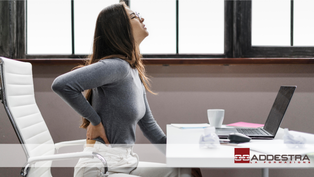 Ergonomia e postura al lavoro